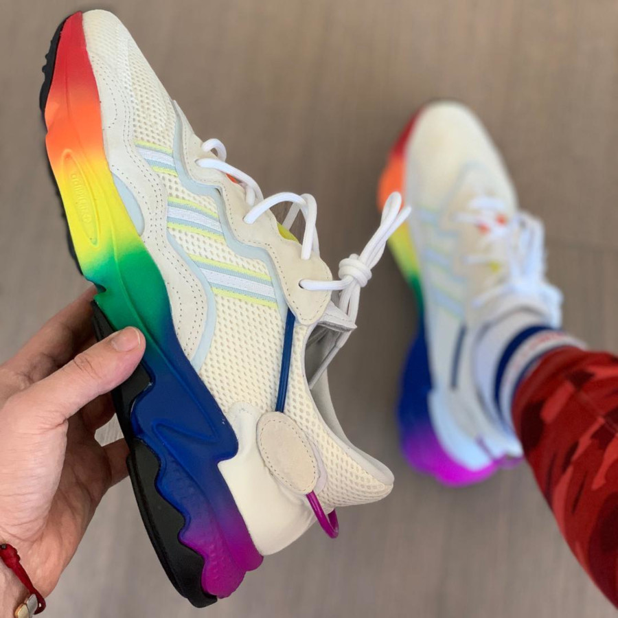 Adidas Ozweego Adiprene Pride 2019 'Off White Multicolore' (1)