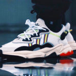 Adidas Ozweego Adiprene White Solar Green (X-Model Era Pack)