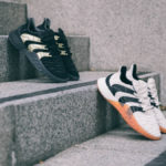Adidas Sobakov Boost Chalk White & Black/Gold