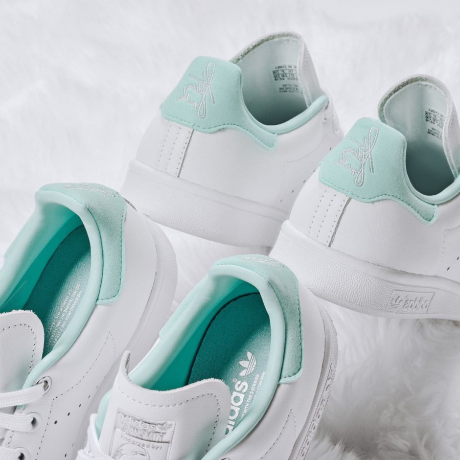 Adidas Stan Smith W 'Clear Mint' FTWR White Silver Met (1)