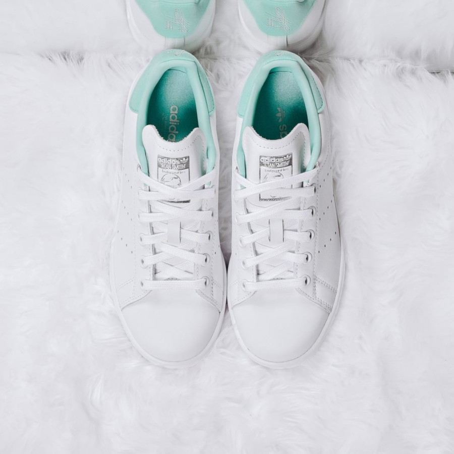 Adidas Stan Smith W 'Clear Mint' FTWR White Silver Met (2)