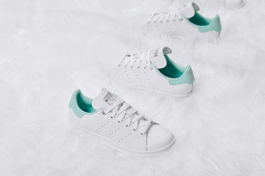 Adidas Stan Smith W 'Clear Mint' FTWR White Silver Met (3)