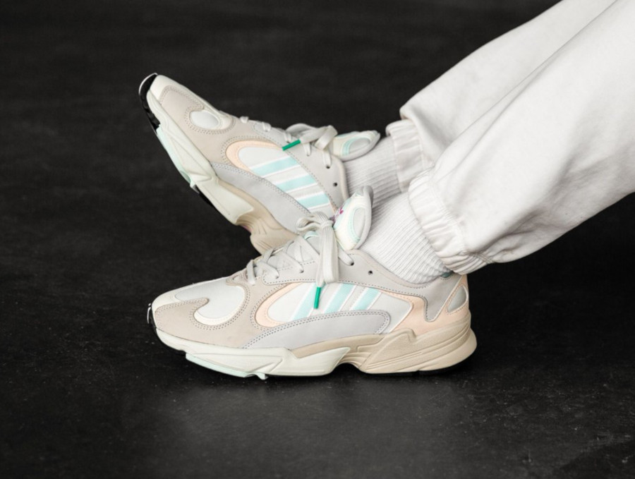 Adidas Yung-1 Off White Ice Mint Ecru Tint (2)