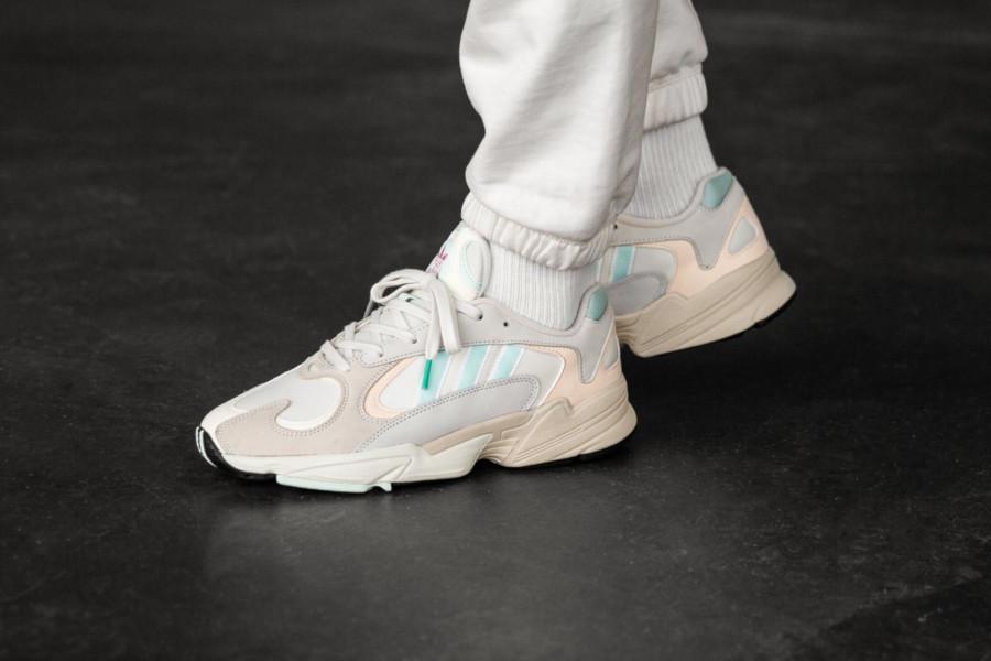 Adidas Yung-1 Off White Ice Mint Ecru Tint (4)