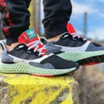 Adidas ZX 4000 4D Futurecraft 'Kelvin Temperature Scale' Black Onix
