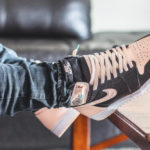 Air Jordan 1 Retro High OG 'Crimson Tint' Black Hyper Pink