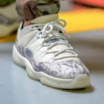 Air Jordan 11 Retro Low LE 'Snakeskin' Light Bone Red Sail