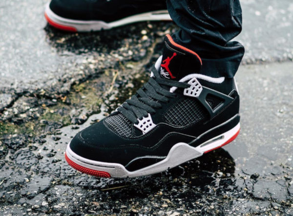 low priced c9037 d2154 Air Jordan 4 Retro  Bred 2019  (30ème anniversaire) ...