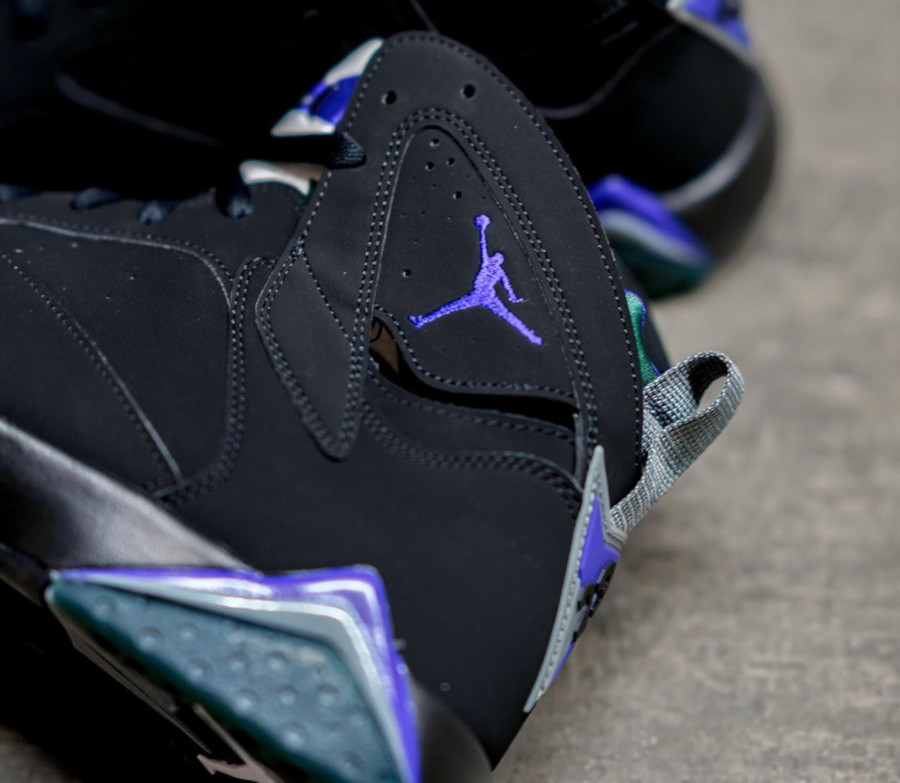 Air Jordan 7 Retro 'Ray Allen' Black Fierce Purple (4)