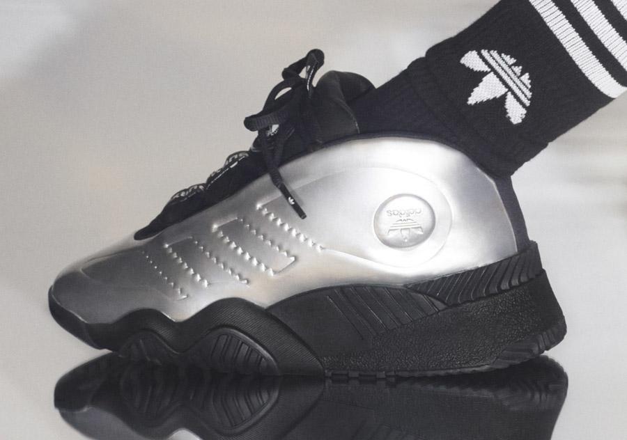Alexander Wang x Adidas AW Futureshell Platine Metallic (3)