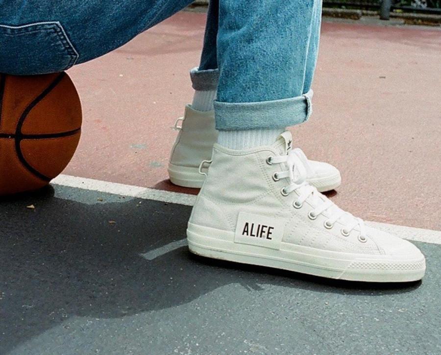 Alife x Adidas Consortium Nizza Hi RF