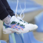 Hypebeast x Asics Gel Kayano 5 OG 'Meadow' White Speed Red
