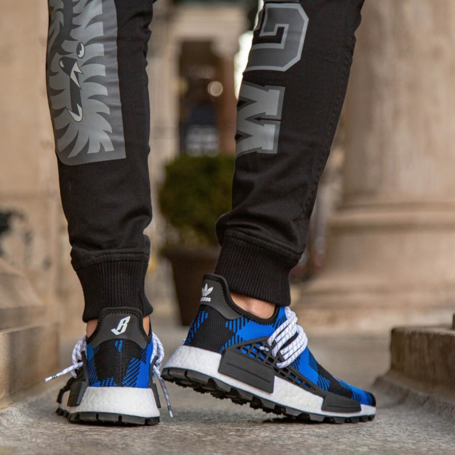 Billionaire Boys Club x Adidas NMD HU 'Power Blue' (1)