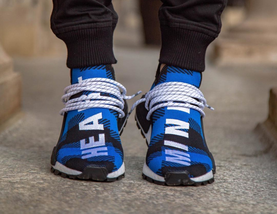 Billionaire Boys Club x Adidas NMD HU 'Power Blue' (2)