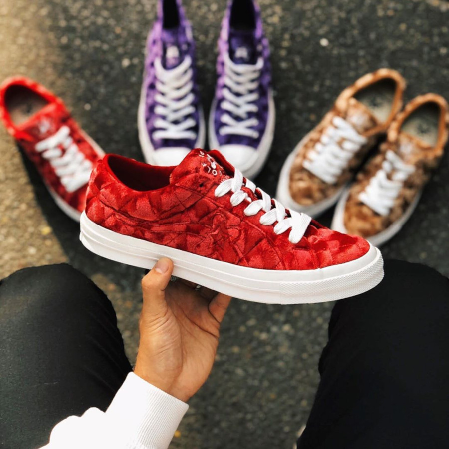 Converse x Golf Le Fleur One Star OX Barbados Cherry