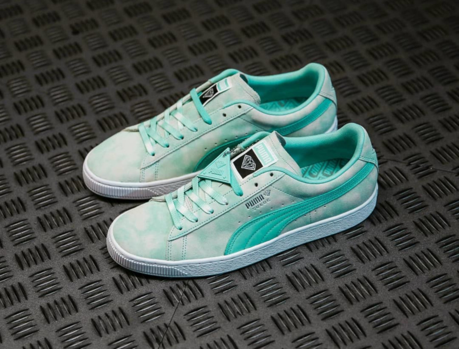 Faut il acheter la Puma Suede Diamond Supply Blue Tie Dye