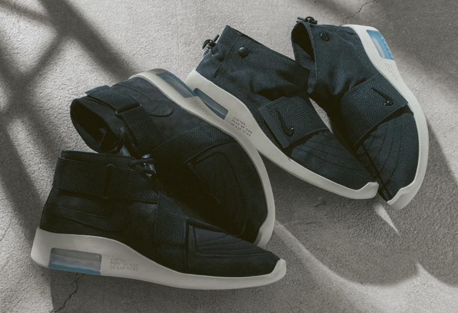 Fear of God x Nike Air Raid & Moc 'Black Fossil (1)