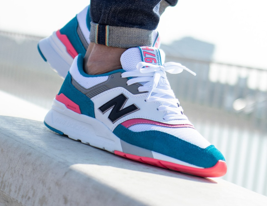 New Balance CM997HCS South Beach on feet