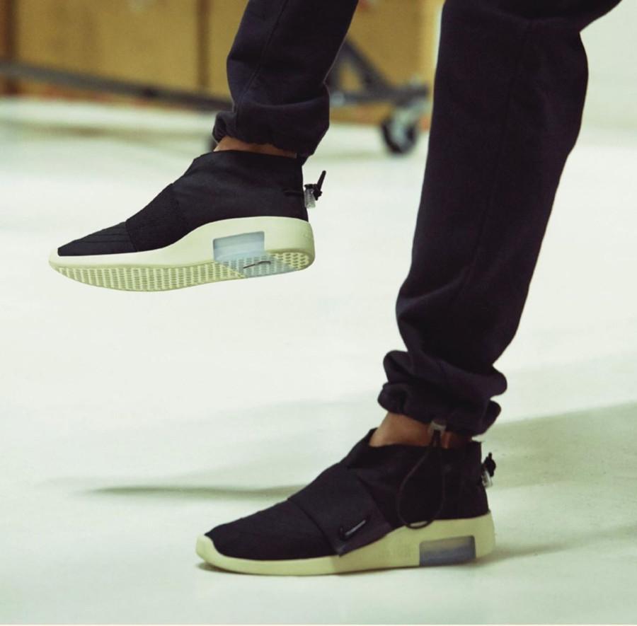 Nike Air Fear of God Moc Black Fossil