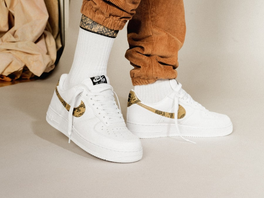 Nike Air Force 1 '07 Low Retro PRM QS 'Ivory Snake' (1)