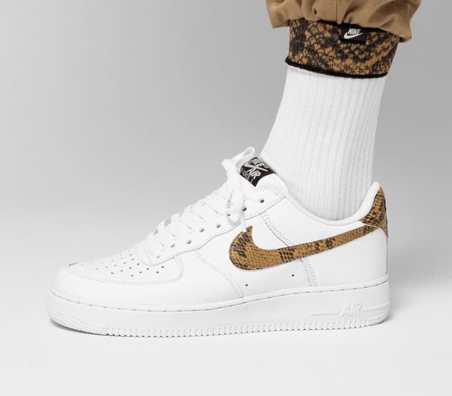 Nike Air Force 1 '07 Low Retro PRM QS 'Ivory Snake' (3)