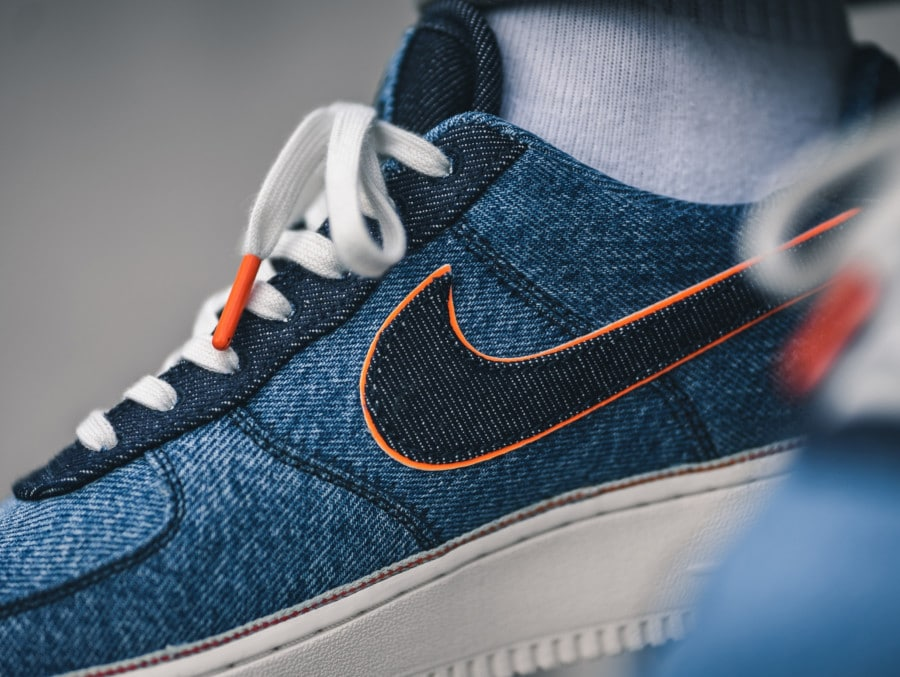 Nike Air Force 1 '07 Premium Stonewash Blue (3)