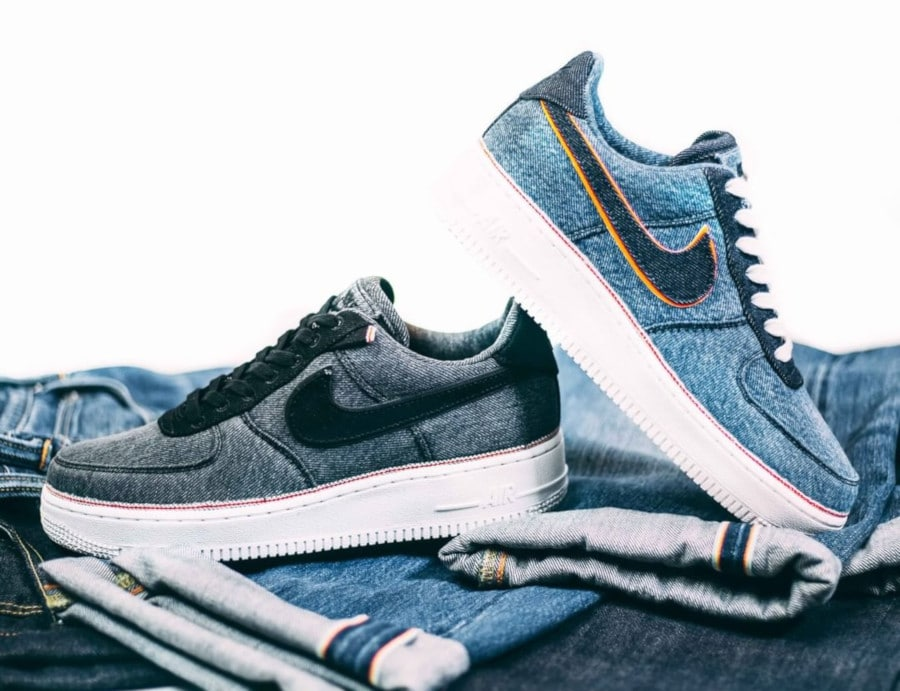 Nike Air Force 1 3X1 '07 PRM Selvedge Denim