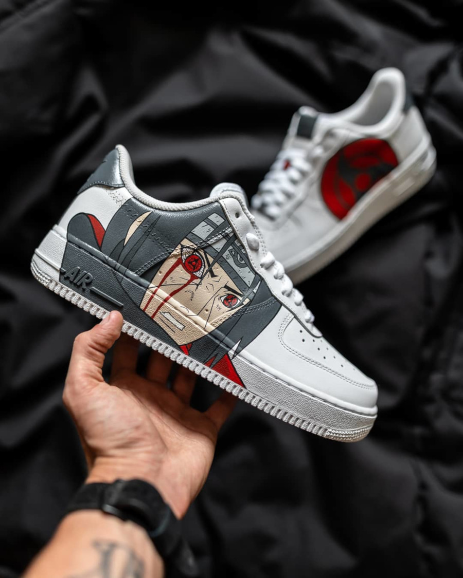 Nike Air Force 1 Low 'Itachi Mangekyou Sharingan' (1)