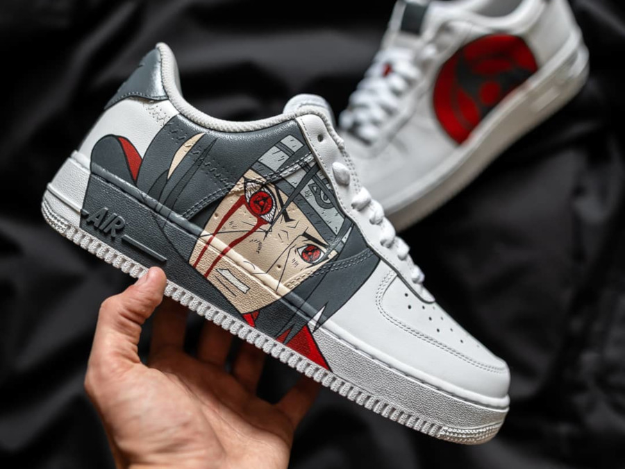 air force 1 custom naruto