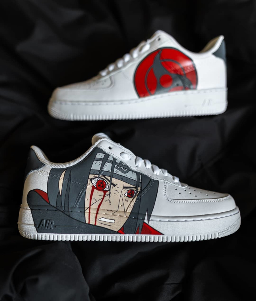 Nike Air Force 1 Low 'Itachi Mangekyou Sharingan'