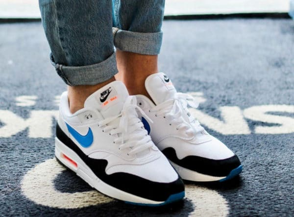 Nike Air Max 1 White Photo Blue 2019 AH8145-112