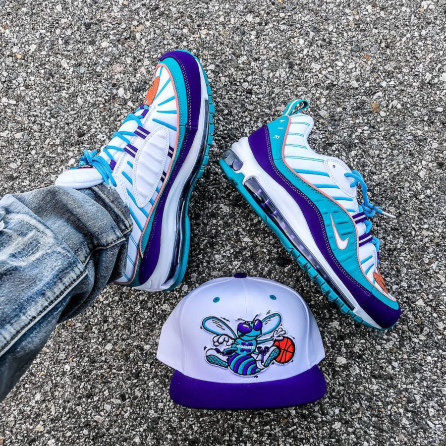 Nike Air Max 98 Charlotte Hornets - @floydsworldkicks