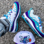 Nike Wmns Air Max 98 'Charlotte Hornets' Court Purple Terra Blush