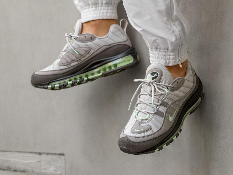 Nike Air Max 98 Fresh Mint Grey 640744-011 (1)
