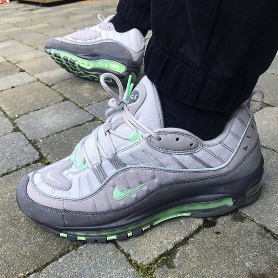 Nike Air Max 98 Fresh Mint Grey 640744-011 (2)