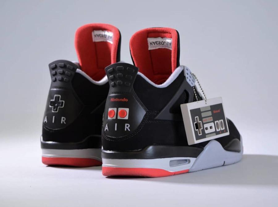 Nike Air 'Nes' Jordan 4 'Super Mario Bros & Duck Hunt' (2)
