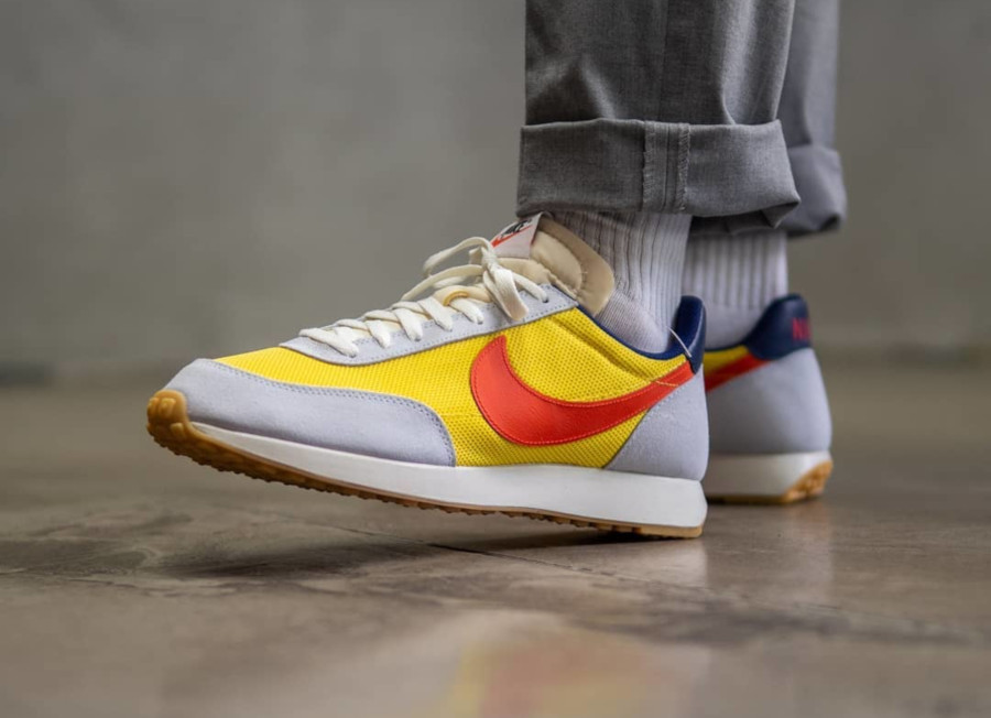 Nike Air Tailwind 79 Blue Tint Yellow Orange 487754-407 (3)