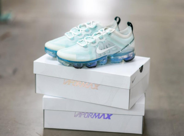 Nike Air Vapormax 2019 Barely Grey Ghost Aqua