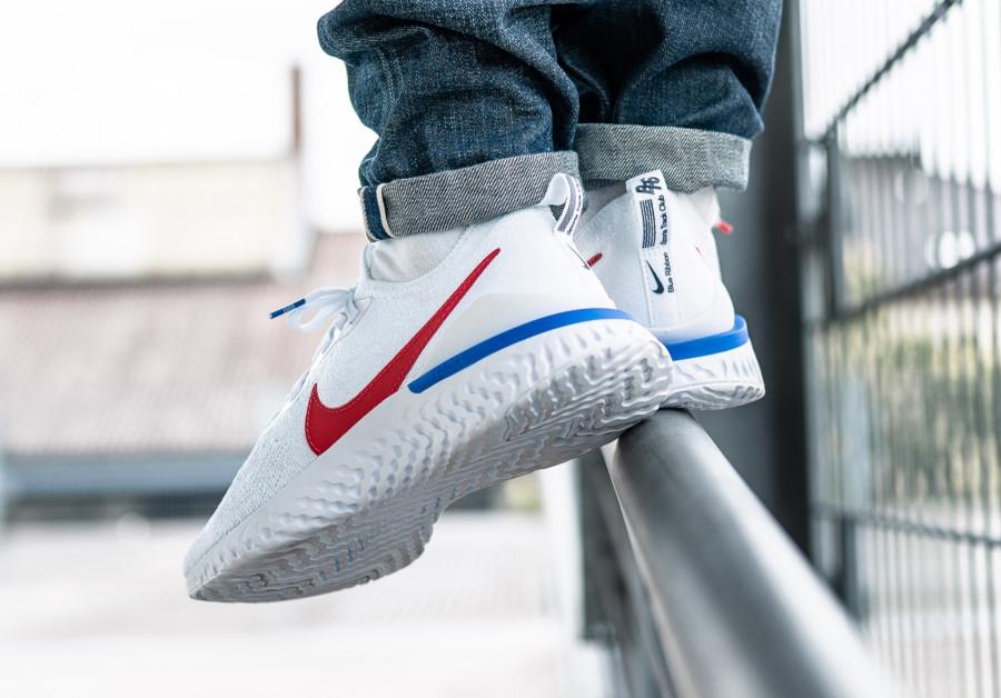 Nike Epic React Flyknit 2 Cortez OG White Blue Red (1)