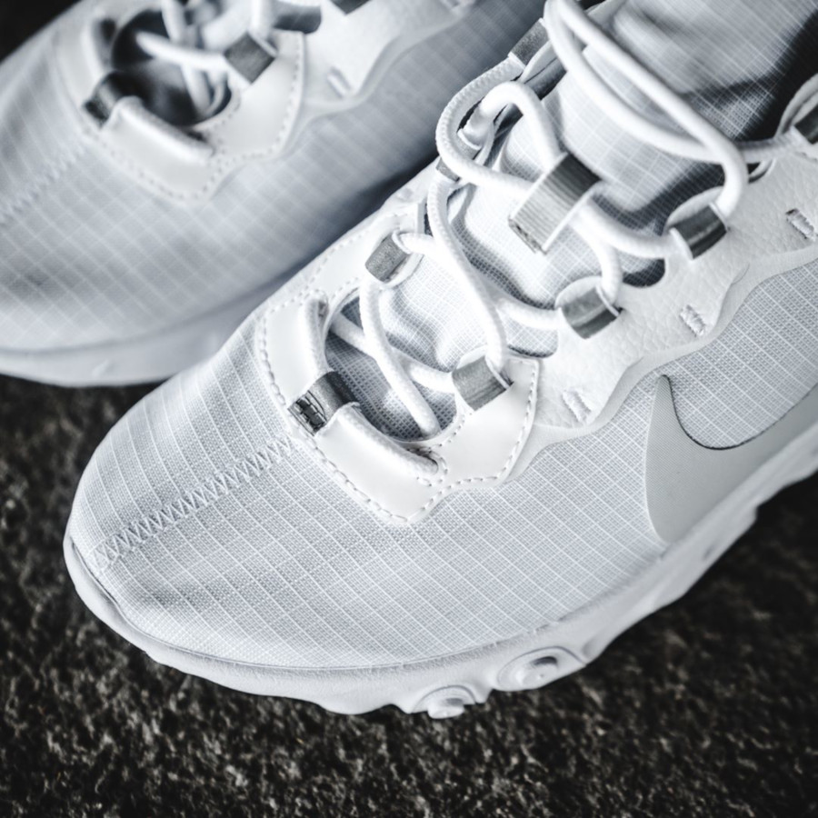 Nike React Element 55 Special Edition en mesh blanc (1)