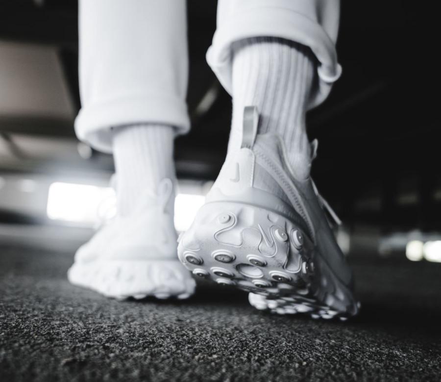 Nike React Element 55 Special Edition en mesh blanc (2)