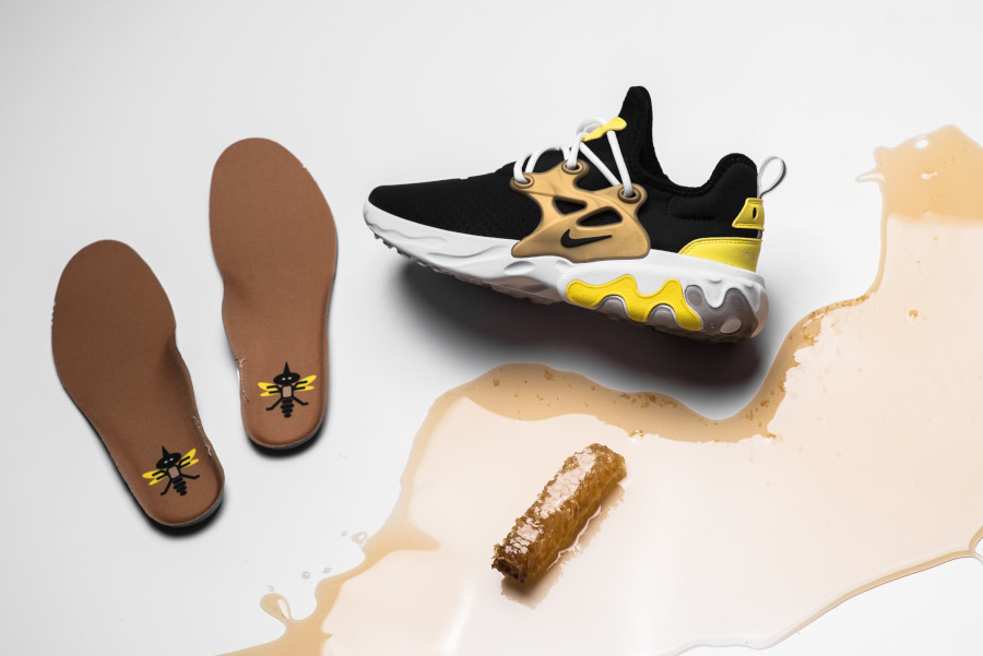 Nike React Presto Black Yellow Streak (3)