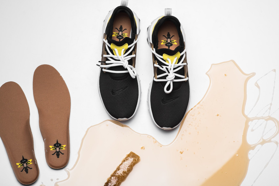 Nike React Presto Black Yellow Streak (7)