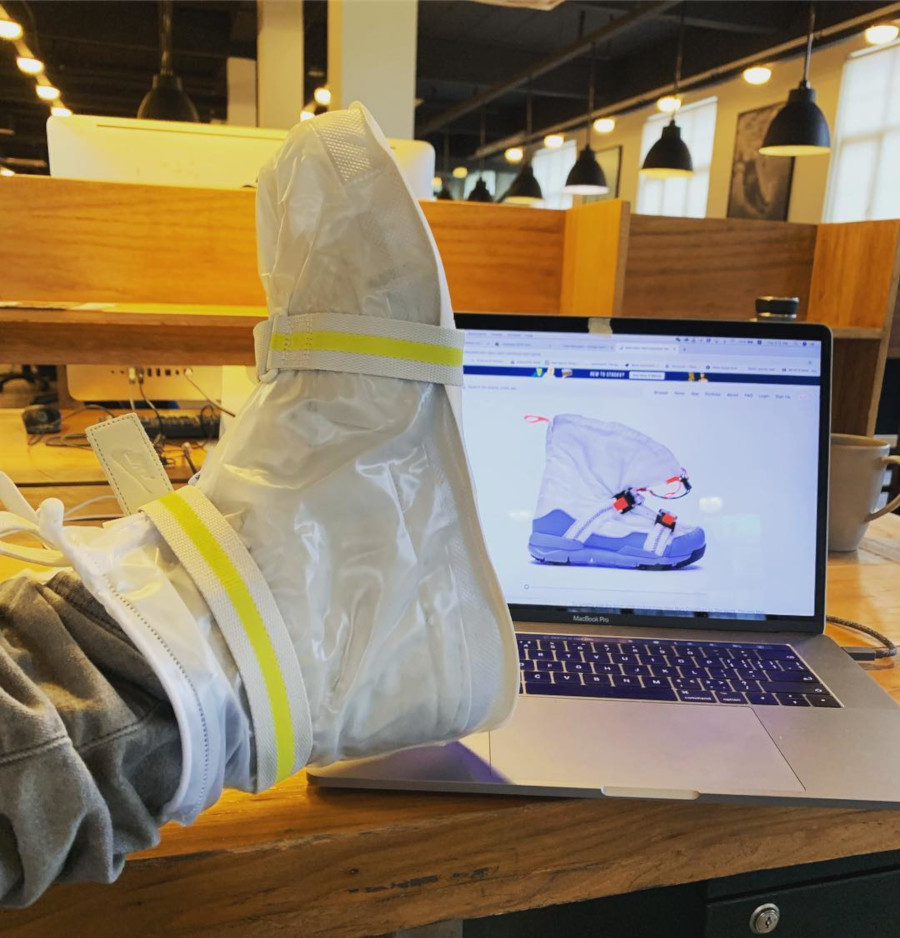 Nike Tom Sachs Overshoe DIY fait à la maison - @run_run_joe