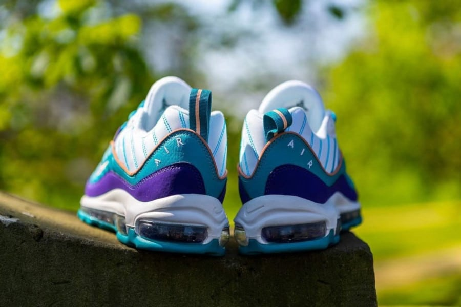 Nike Wmns Air Max 98 'Charlotte Hornets' Court Purple Terra Blush (2)