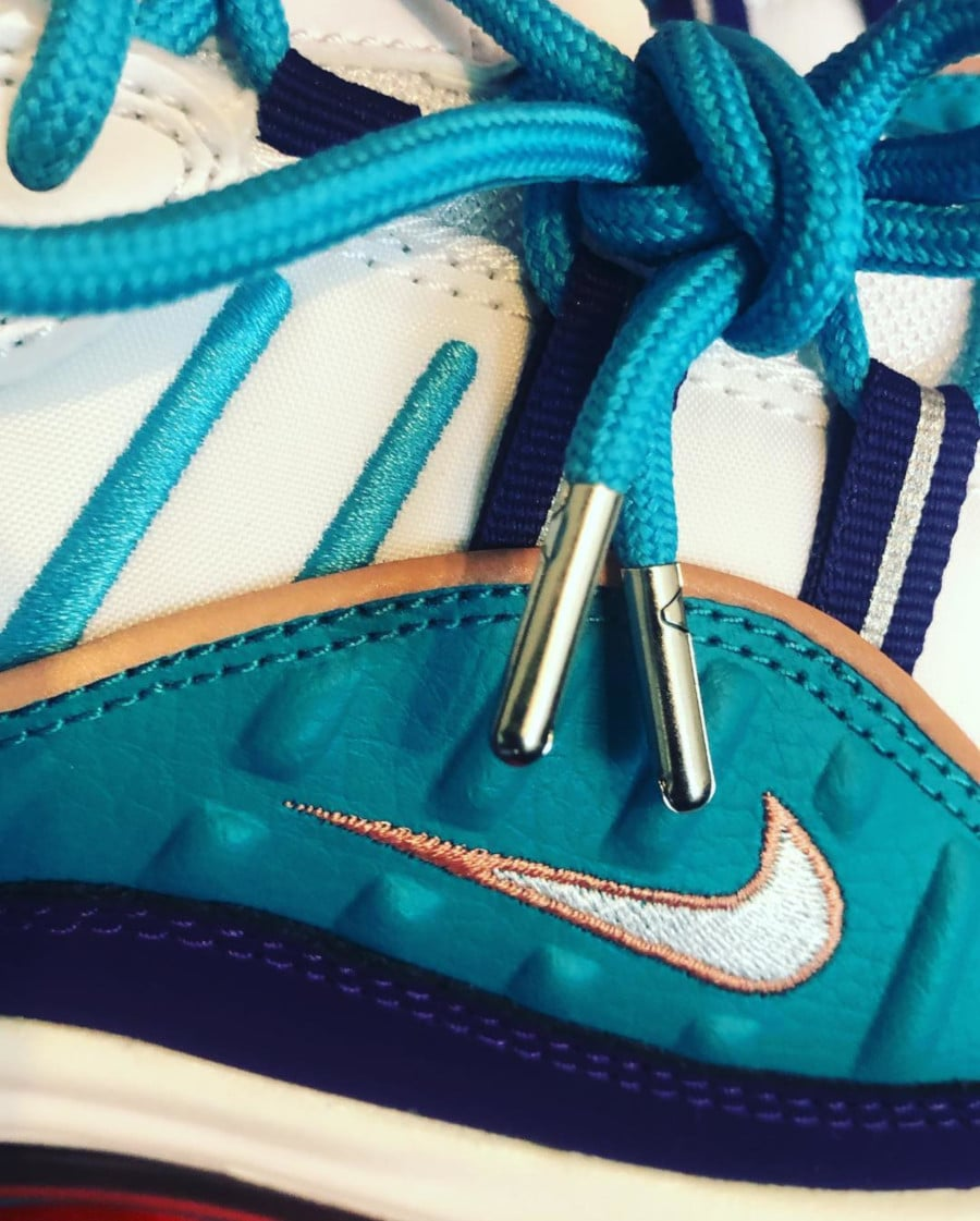Nike Wmns Air Max 98 'Charlotte Hornets' Court Purple Terra Blush (7)