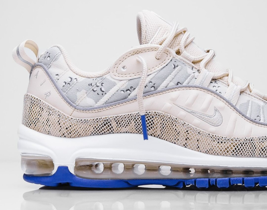 Nike Wmns Air Max 98 Premium 'Camo Snakeskin' Light Orewood Brown