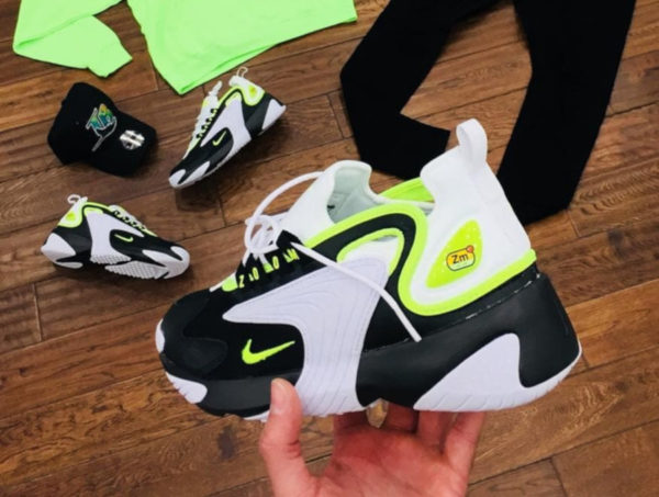 Nike Zoom 2K Black White Volt AO0269-004 (1)