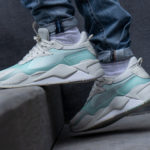 Puma RS-X Tech Pack Vaporous Gray Fair Aqua