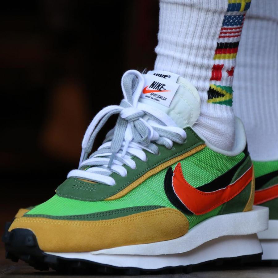 Sacai x Nike LDV Waffle Green Gusto (2)